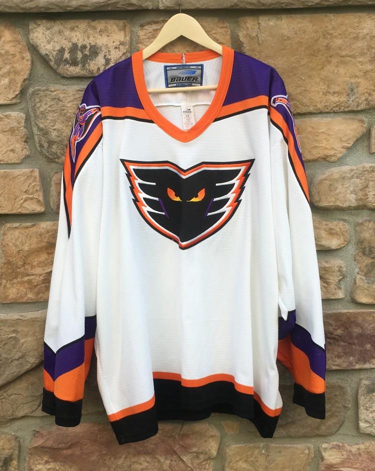 Vintage 90 s Philadelphia Phantoms Bauer AHL jersey size XXL 7902102bf