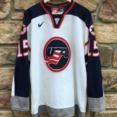 1998 Team USA Brett Hull Nike Hockey jersey olympic size medium