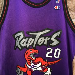 Toronto Raptors Damon stoudamire champion NBA jersey size 44 large