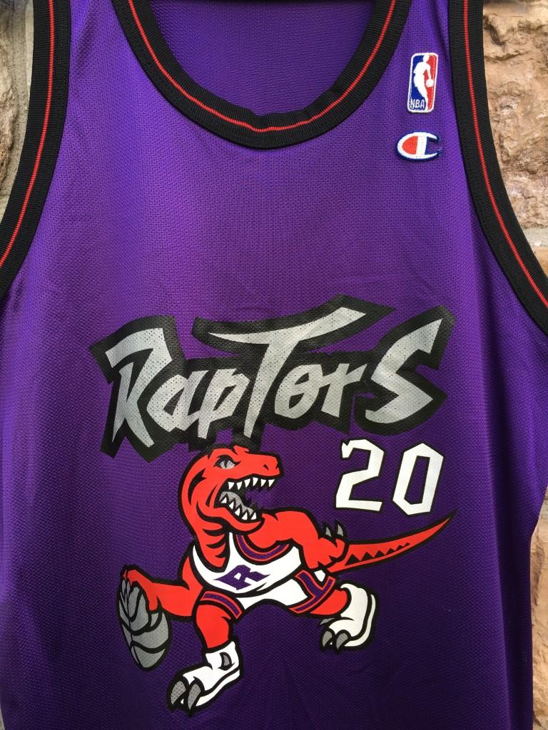 ef4325872 1996 Damon Stoudamire Toronto Raptors Champion NBA Jersey Size 44 ...