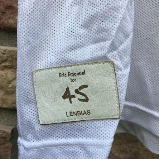 Eric Emanuel Custom Lenbias snake skin champion vintage NBA jersey