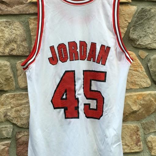 #45 Michael Jordan Custom Snake skin eric emanuel jersey