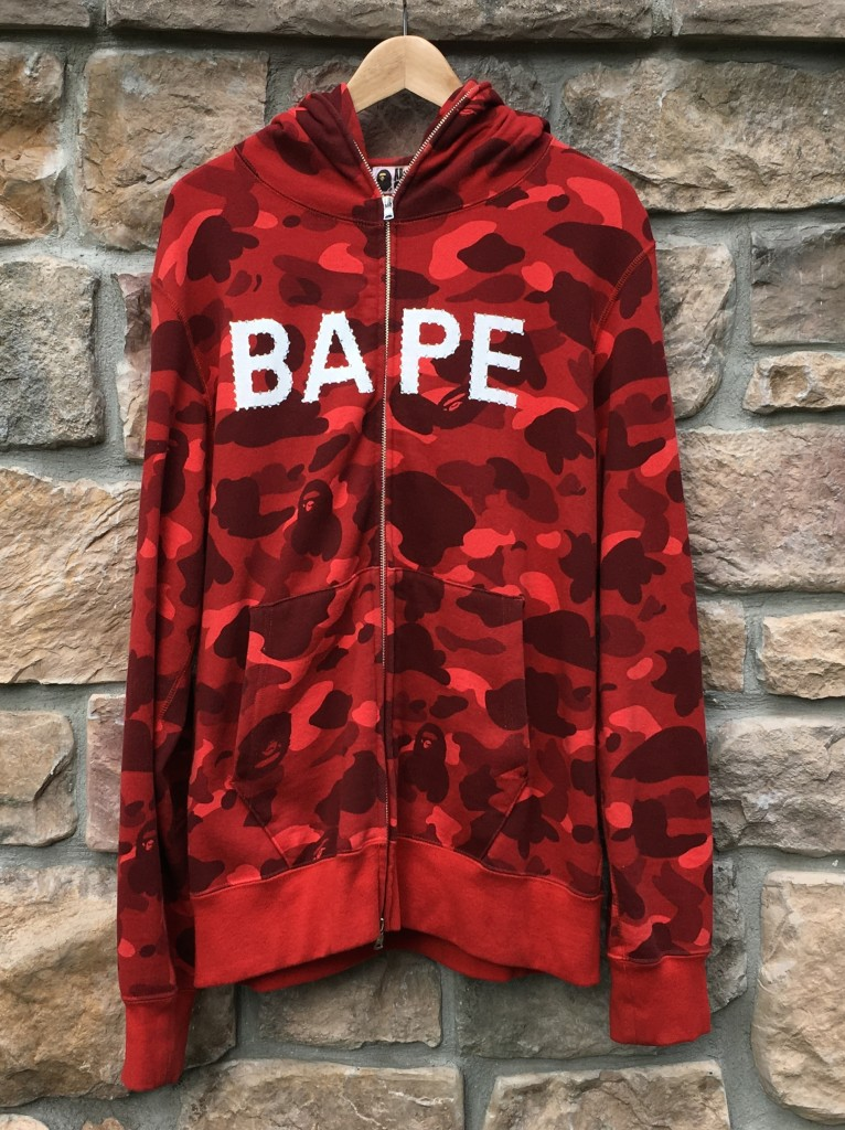 716978522ad1 a bathing ape 1st camo Swarovski full zip hoody hoodie size XL extra large