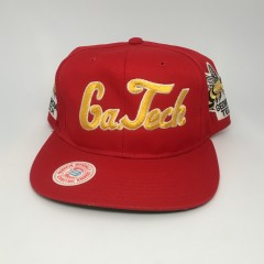 vintage 90's Georgia tech yellow jackets ncaa snapback hat