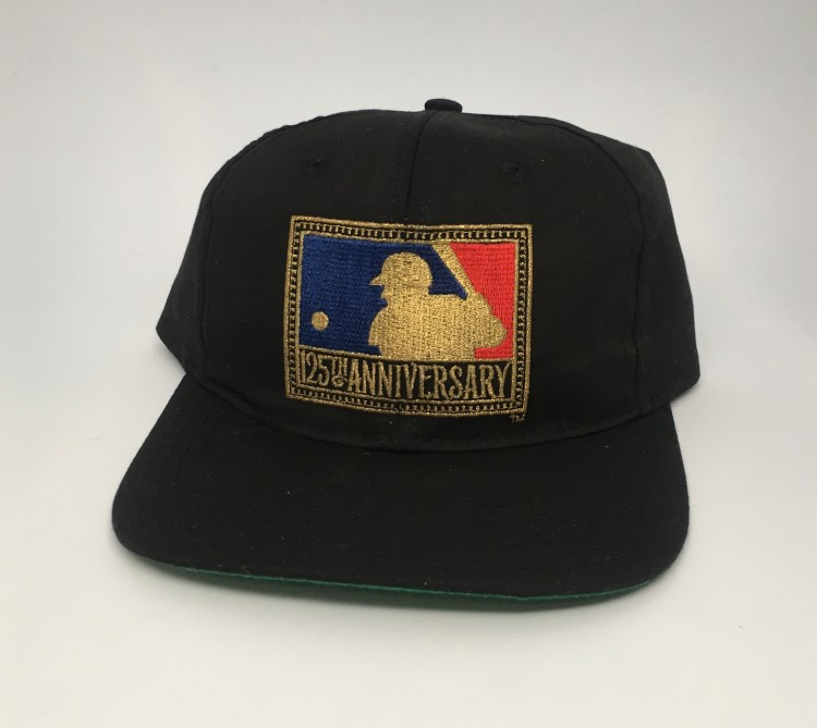1695dfff60e Vintage MLB 125th Anniversary Starter snapback hat