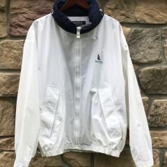vintage 90's Nautica Cup Scotland windbreaker jacket size XL