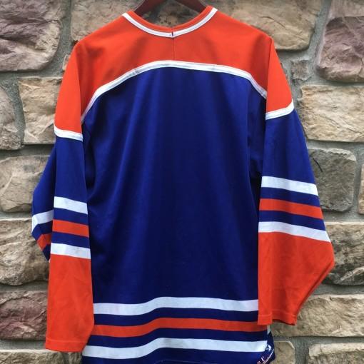 blank vintage CCM edmonton oilers hockey jersey