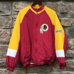 vintage 90's washington redskins chalkline nfl jacket size XL