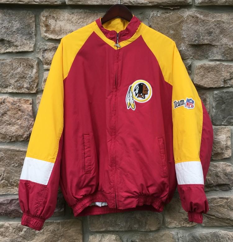 0a05ba5ec vintage 90 s washington redskins chalkline nfl jacket size XL