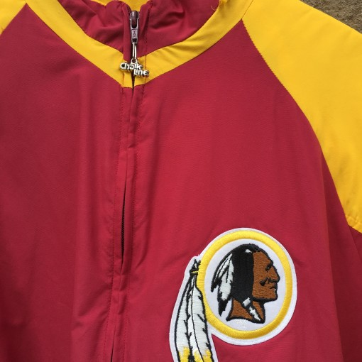 throwback washington redskins jacket
