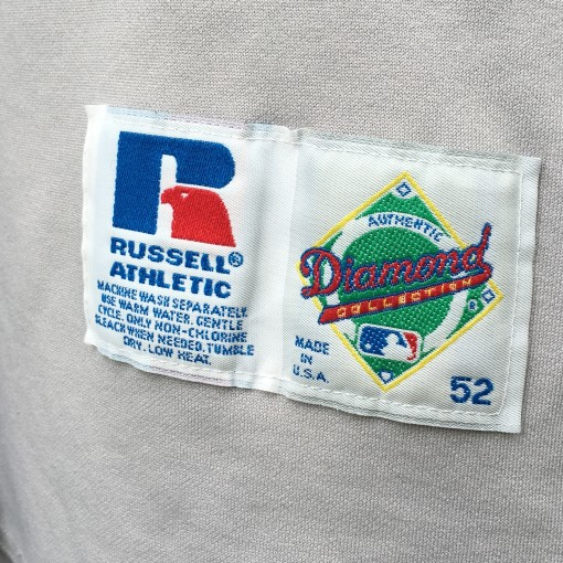 size 52 authentic 90's russell diamond collection mlb jersey