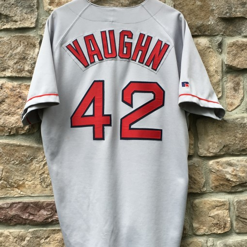 vintage 90's Mo Vaughn Boston Red Sox authentic MLB jersey
