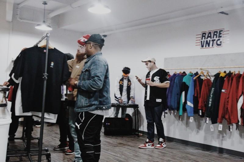 Rare Vntg Philadelphia Pop up shop