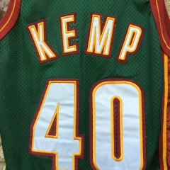 kemp sonics authentic 90's green jersey