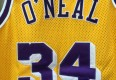 shaq authentic 90's yellow lakers jersey