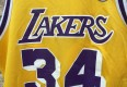 los angeles lakers shaq champion jersey 90's OG