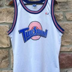 1996 Tune squad space jam champion jersey size 44 sylvester the cat