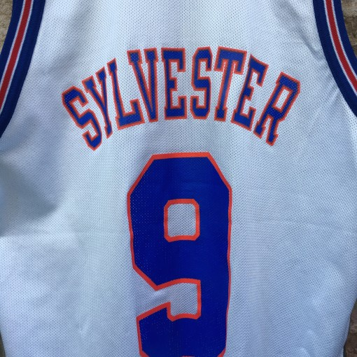 sylvester tune squad space jam looney tunes champion jersey size 44
