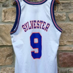 sylvester the cat space jam tune squad champion jersey