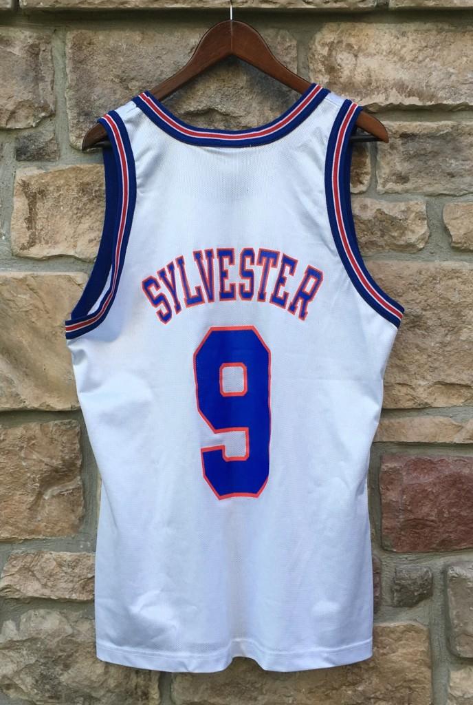 1996 Sylvester Tune Squad Space Jam Champion Jersey Size 44  f9e3374cf