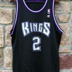 90's Mitch Richmond sacramento kings nba champion jersey size 48