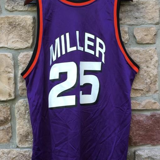 Oliver miller phoenix suns purple champion nba jersey