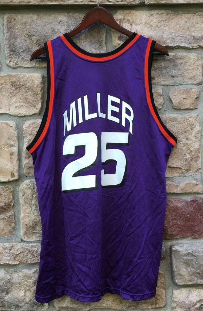 4588857081ac 1994 Oliver Miller Phoenix Suns Champion NBA Jersey Size 48