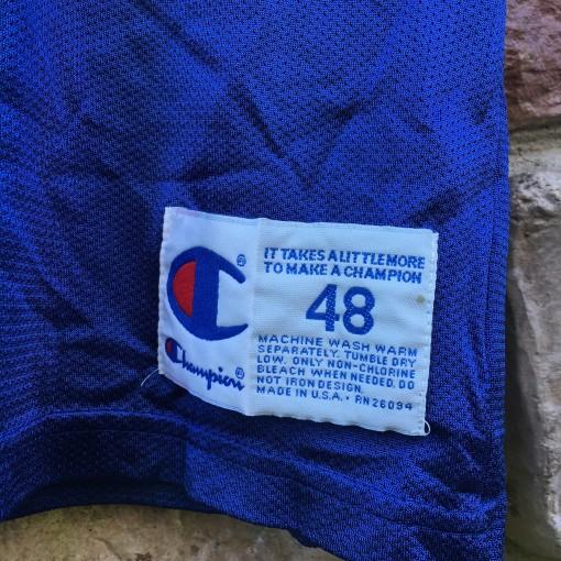 size 48 vintage champion nba jersey