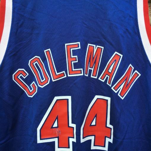 derrick coleman new jersey nets vintage jersey
