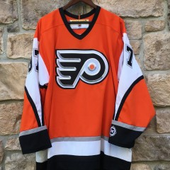 jeremey roenick philadelphia flyers orange koho alternate nhl jersey size XL