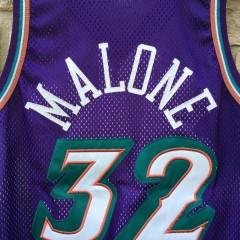 vintage Karl Malone Utah Jazz authentic Champion NBA jersey