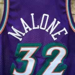vintage Karl Malone Utah Jazz authentic Champion NBA jersey