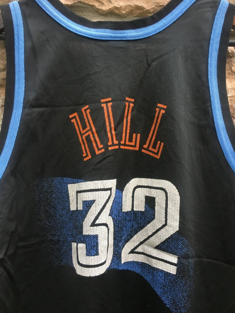 ... vintage tyrone hill cleveland cavaliers champion nba jersey 6887c824c