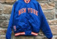 vintage 80's New york knicks starter satin bomber jacket OG