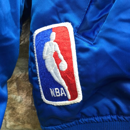 vintage NBA starter satin jacket