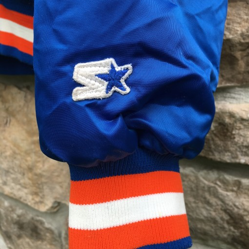 vintage Knicks starter satin jacket