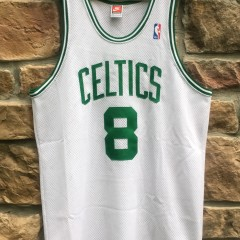 vintage antoine walker boston celtics authentic nike jersey size 44 large 1997