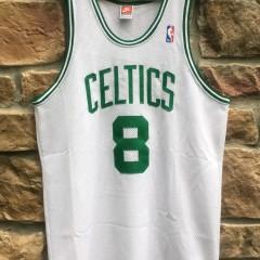 vintage antoine walker boston celtics authentic nike jersey size 44 large 1997