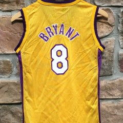 vintage #8 kobe bryant los angeles lakers NBA jersey