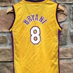 vintage #8 kobe bryant los angeles lakers NBA jersey