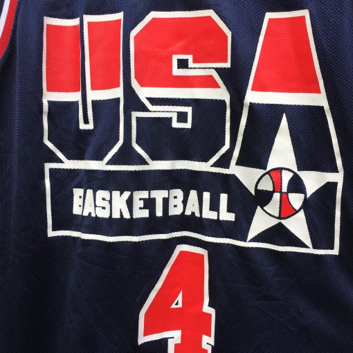 vintage joe dumars team usa champinon basketball jersey