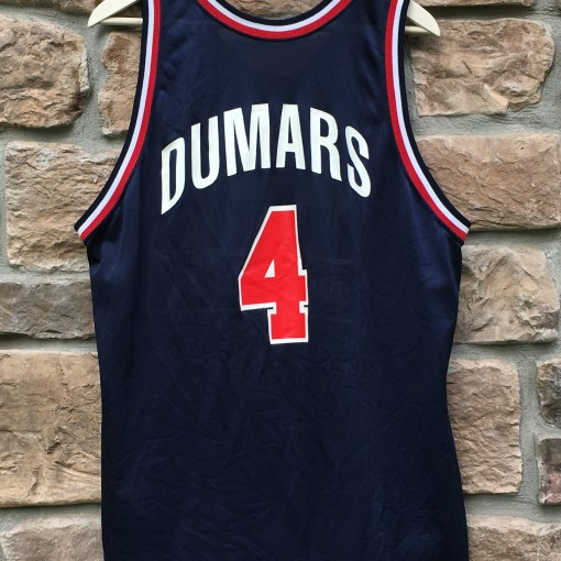vintage 90's Team USA Joe Dumars champion basketball jersey