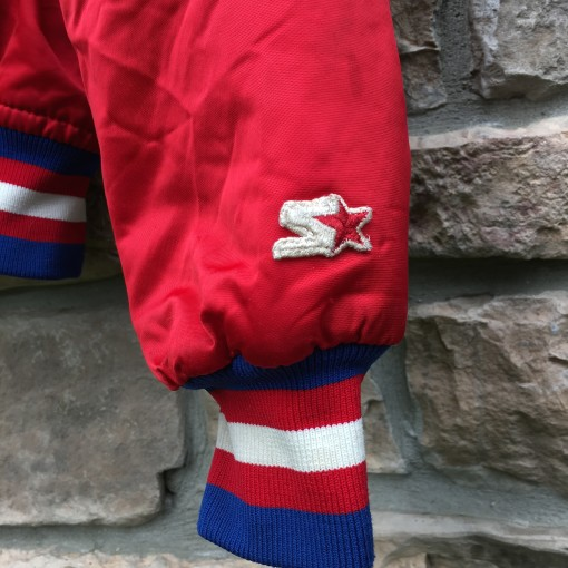 vintage starter sixers nba jacket