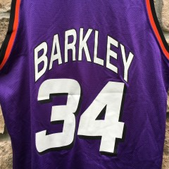 vintage 90's Barkley Champion NBA jersey OG original retro