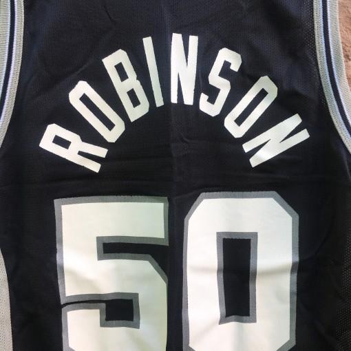 vintage san antonio spurs david robinson jersey