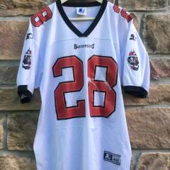 vintage 90's Warrick Dunn Tampa Bay buccaneers jersey