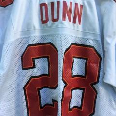 Vintage 90's Warrick Dunn NFL jersey