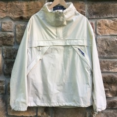 90's Cream off white Polo Ralph Lauren polo sport windbreaker jacket