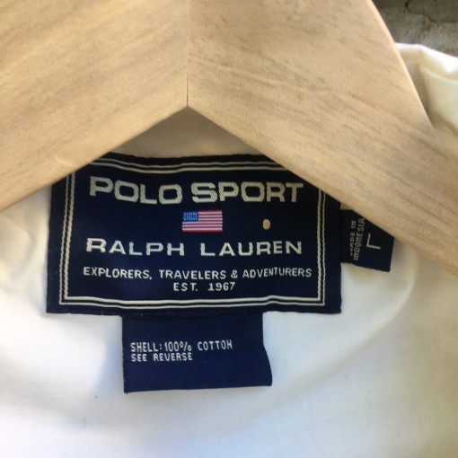 90's Polo Sport windbreaker jacket size large tag