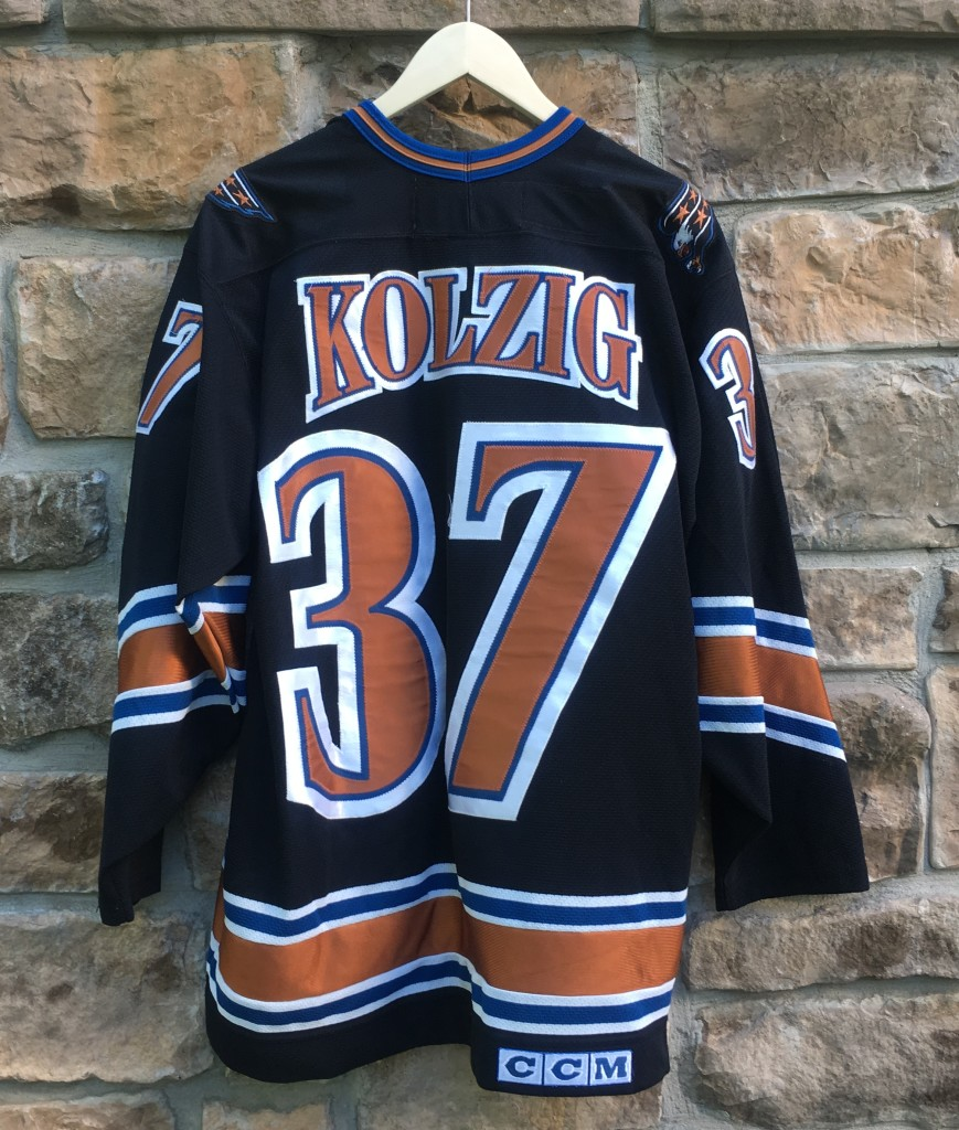 9c93ffa5 1997 Olaf Kolzig Washington Capitals CCM NHL Jersey Size Large ...